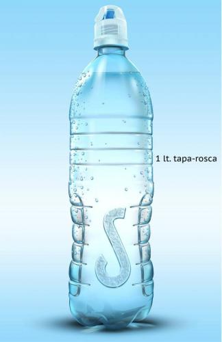Agua Pura Salvavidas 1L tapa rosca